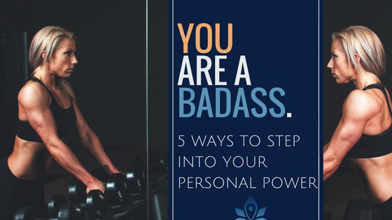 How to step into your personal power