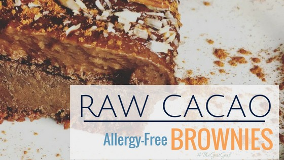 allergy free gluten free brownies